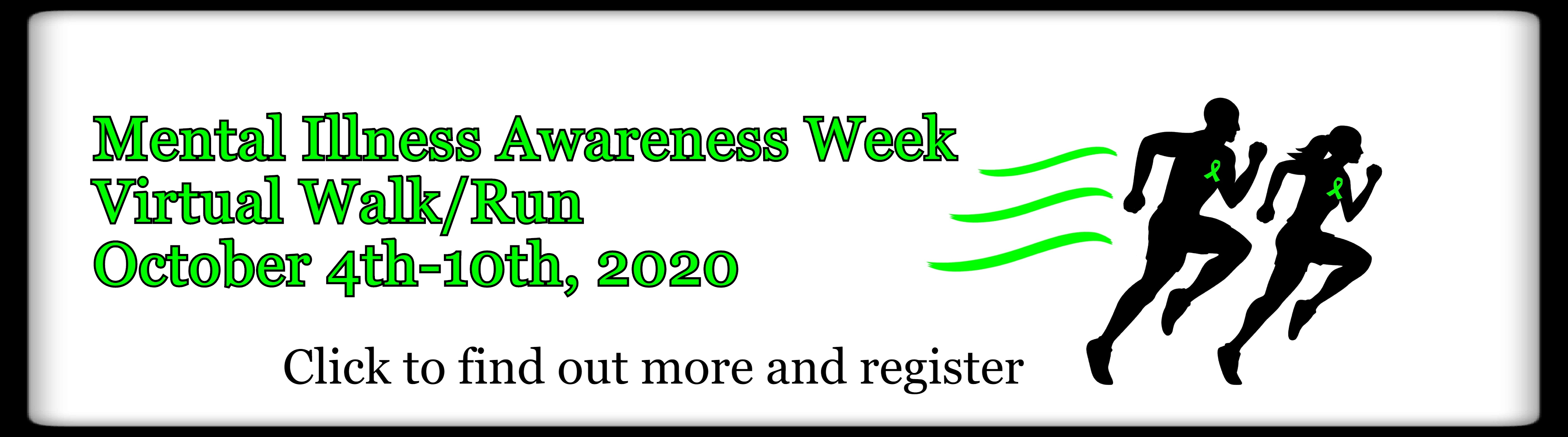 2020 Virtual Walk/Run Event Banner